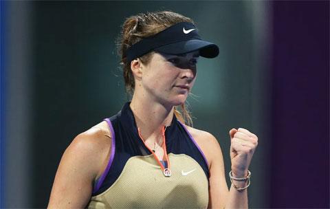 Elina Svitolina thua có ba game ở trận ra quân từ vòng hai