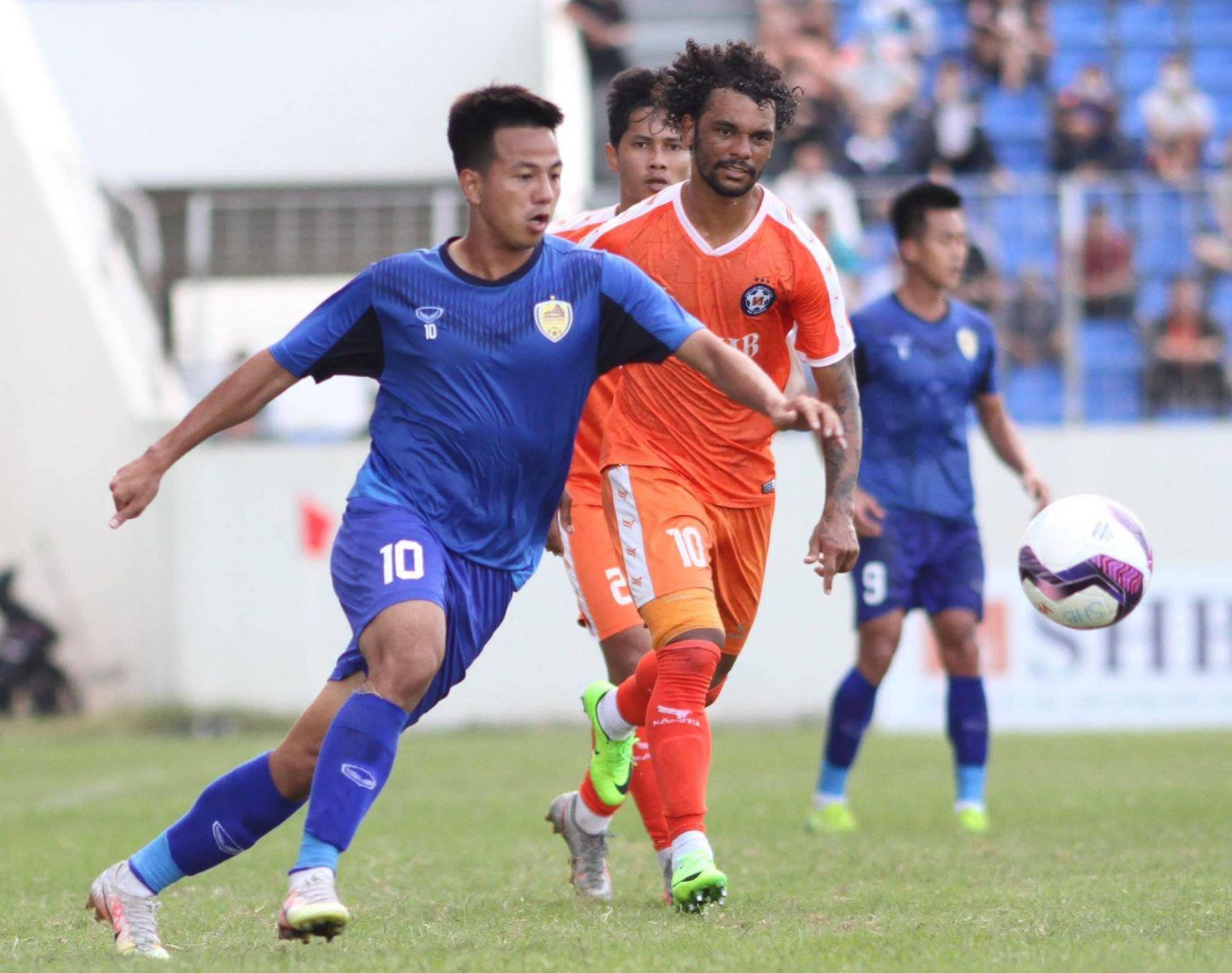 SHB.ĐN với 3 ngoại binh trong đội hình đã nhận thất bại 0-2 trước Quảng Nam FC