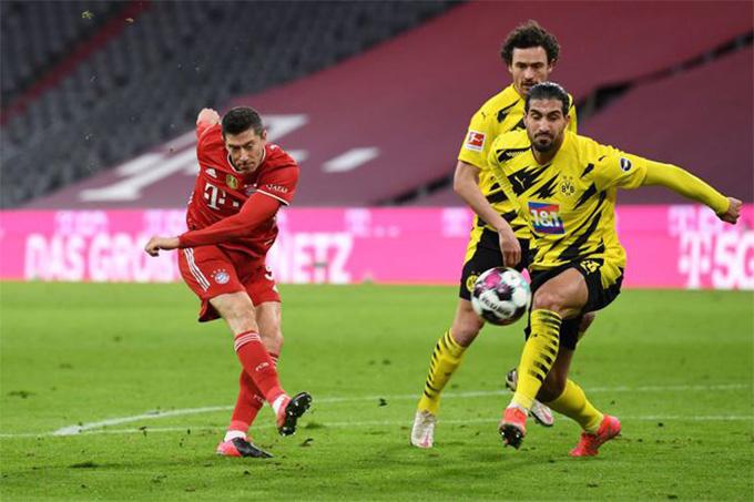 Lewandowski mới thực sự là ngôi sao của trận Bayern vs Dortmund