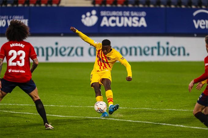 Tài năng trẻ Moriba ấn định chiến thắng cho Barca