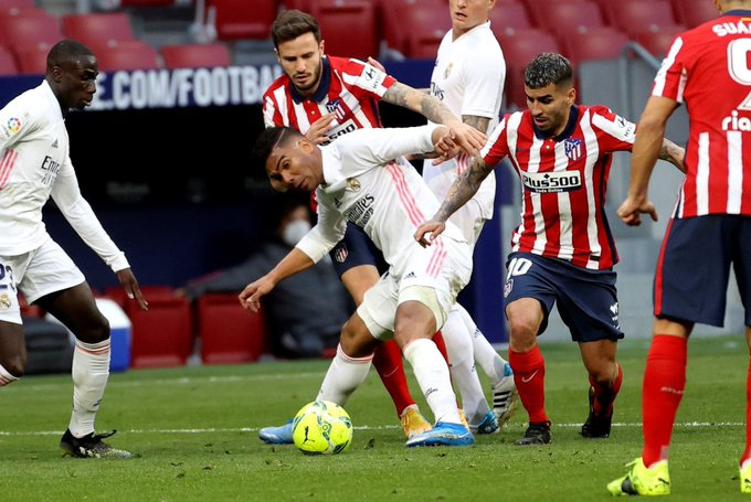 Derby Madrid bất phân thắng bại