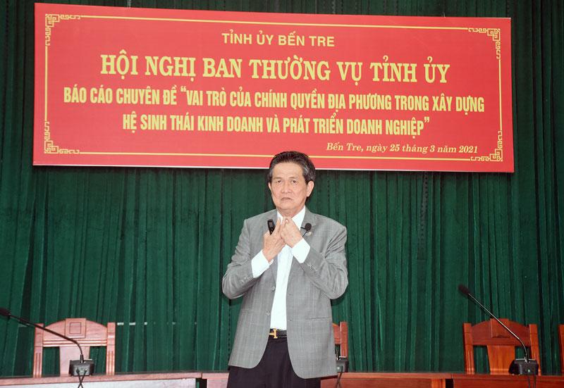 Doanh nhân Đặng Văn Thành - Chủ tịch Tập đoàn TTC chia sẻ về vai trò, chân dung của doanh nhân.