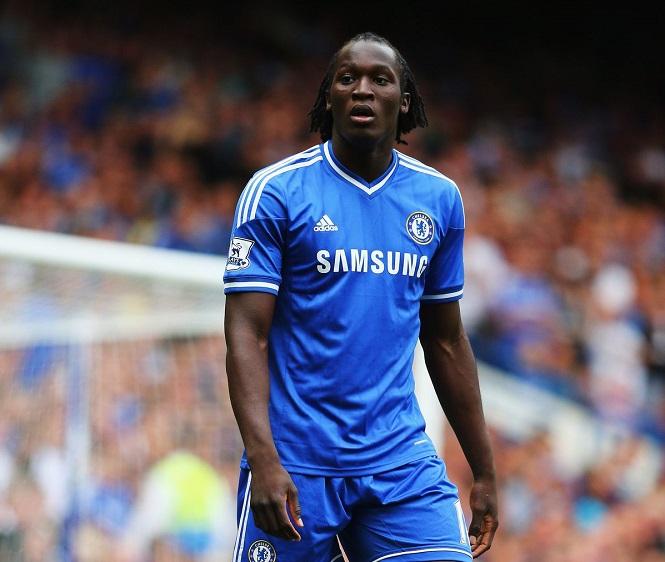 Lukaku khi còn khoác áo Chelsea