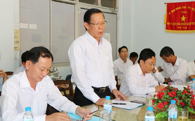 Bí thư Tỉnh uỷ làm việc với Công ty cổ phần CP Việt Nam.