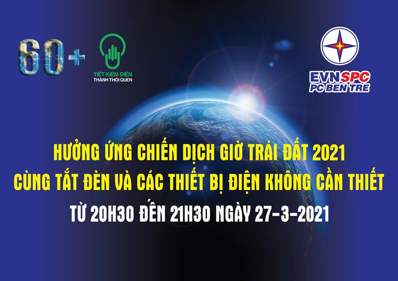 Giờ trái đất năm 2021 - Lên tiếng vì thiên nhiên.