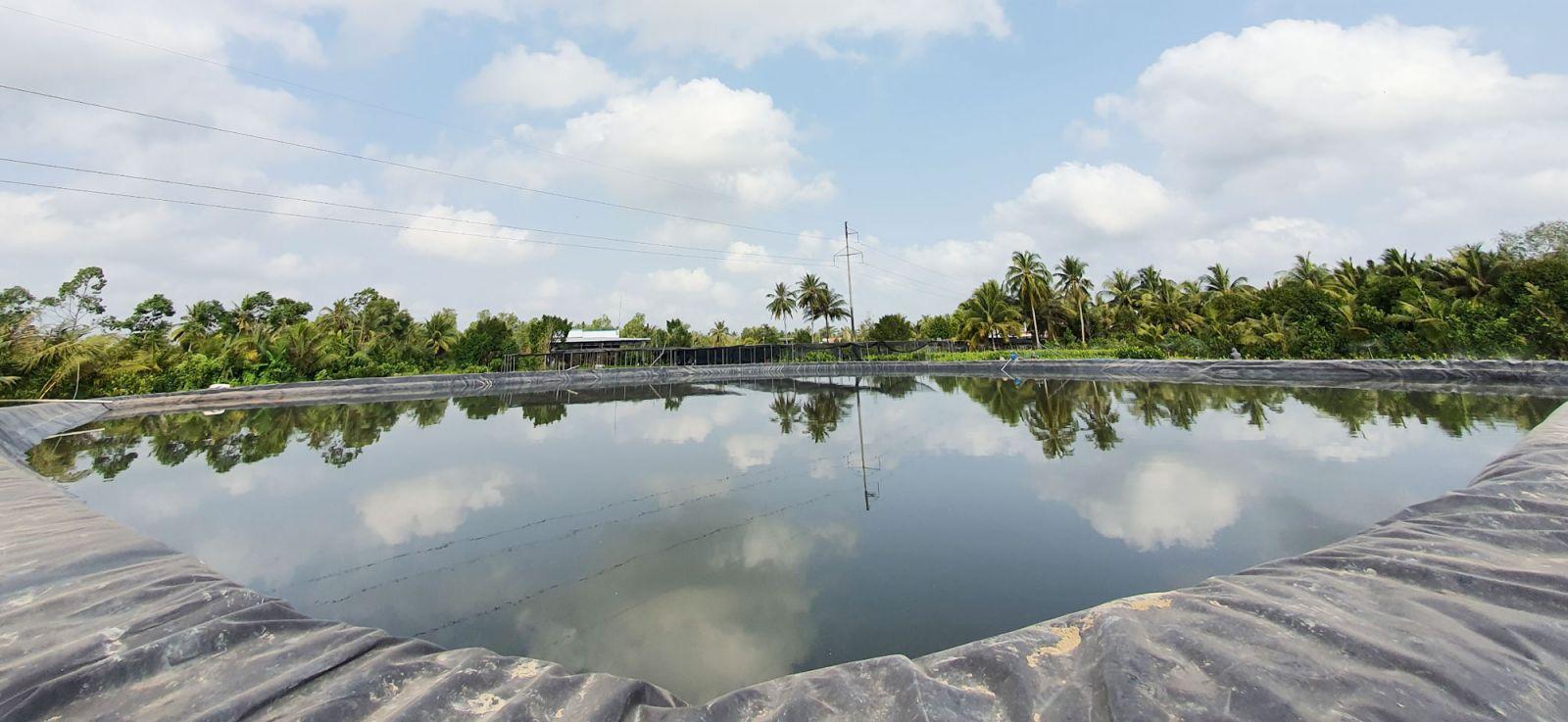 Đồng Khởi trữ nước mưa, nước ngọt