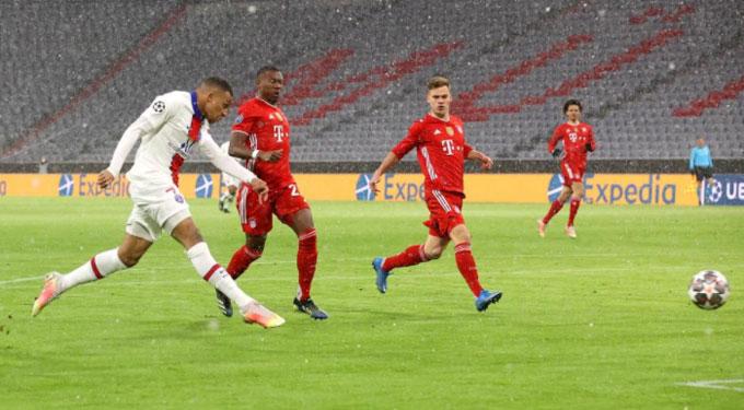 Mbappe thi đấu bùng nổ trước Bayern