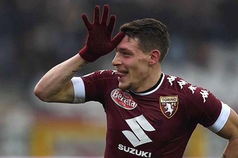 Andrea Belotti vào tầm ngắm của cả Milan và AS Roma