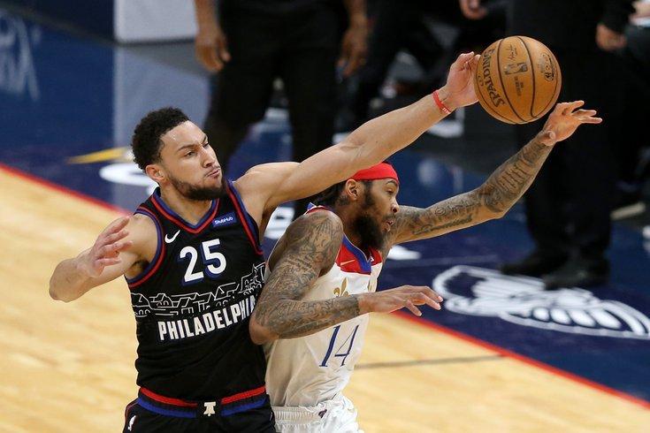 Philadelphia 76ers chơi có phần lấn lướt ở những phút đầu