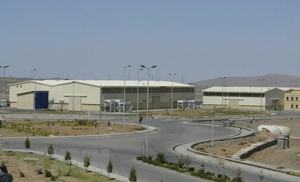 Cơ sở hạt nhân Natanz của Iran. Ảnh: AFP/TTXVN