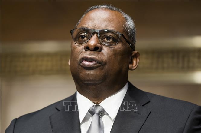 Bộ trưởng Quốc phòng Mỹ Lloyd Austin. Ảnh: THX/TTXVN