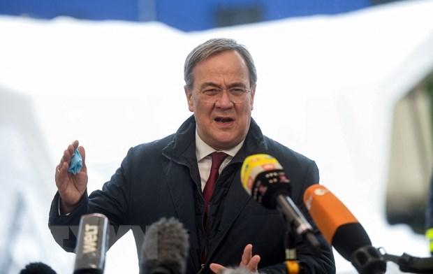 Chủ tịch đảng Liên minh Dân chủ cơ đốc giáo (CDU) của Đức Armin Laschet. Ảnh: AFP/TTXVN