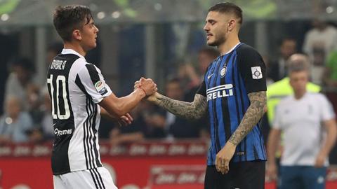 Inter & Juve tái khởi động vụ trao đổi Icardi - Dybala