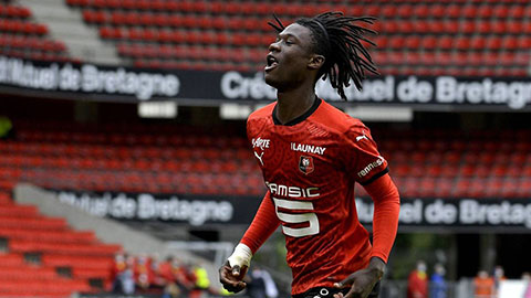 Eduardo Camavinga từ chối gia hạn với Rennes