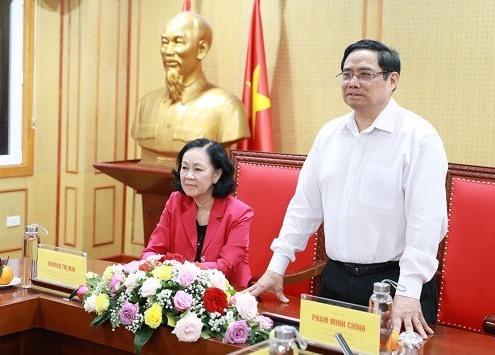 Thủ tướng Chính phủ Phạm Minh Chính phát biểu tại Hội nghị.