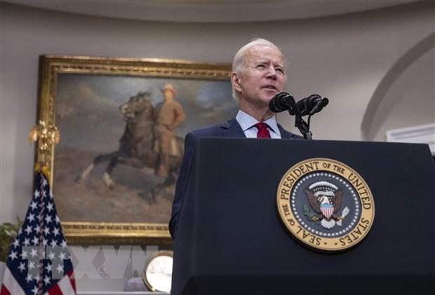 Tổng thống Mỹ Joe Biden. (Ảnh: AFP/TTXVN)