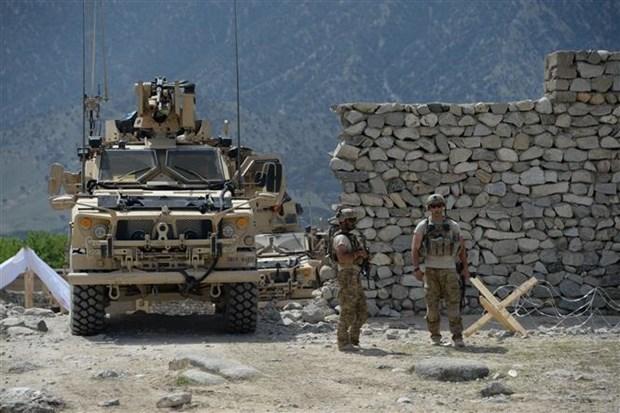 Binh sỹ Mỹ tuần tra tại tỉnh Nangarhar, Afghanistan. (Ảnh: AFP/TTXVN)