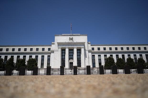 Trụ sở Cục Dự trữ Liên bang Mỹ. (Ảnh: AFP/TTXVN)