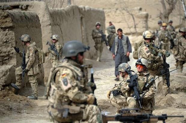 Binh sĩ Đức tuần tra tại tỉnh Kunduz, Afghanistan, ngày 29-3-2012. Ảnh: AFP/TTXVN