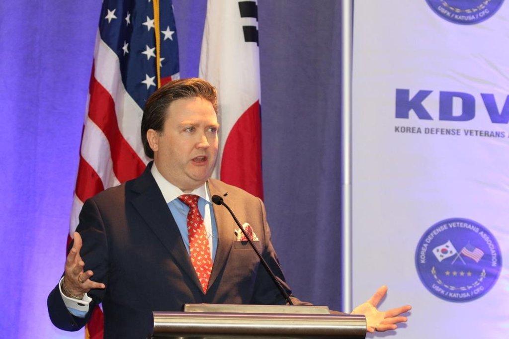Ông Marc Evans Knapper được đề cử làm Đại sứ tại Việt Nam. Ảnh: Yonhap