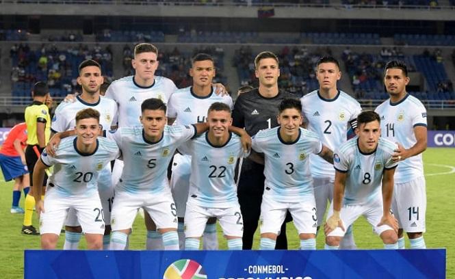 Tuyển Olympic Argentina ở nhóm hạt giống số 1