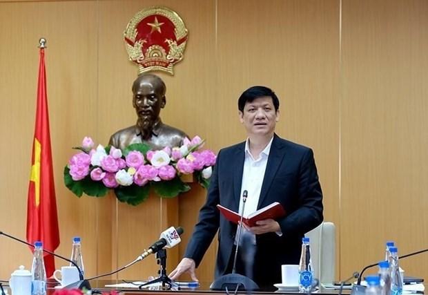Bộ trưởng Bộ Y tế Nguyễn Thanh Long cho rằng đây là vụ vi phạm pháp luật nghiêm trọng. Ảnh: PV/Vietnam+
