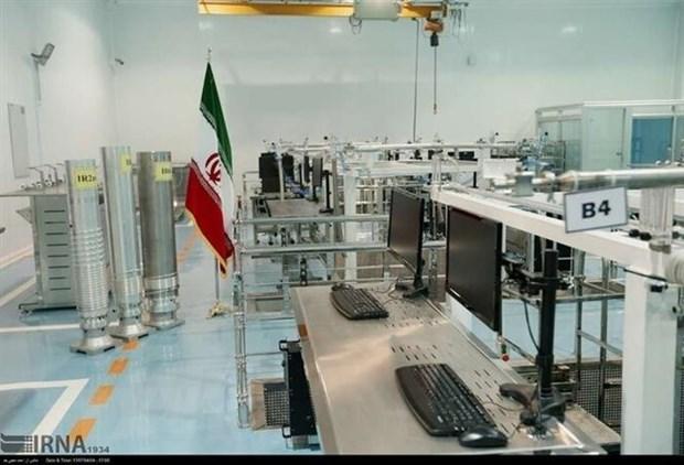 Bên trong cơ sở hạt nhân Natanz ở miền Trung Iran. (Nguồn: IRNA/TTXVN)