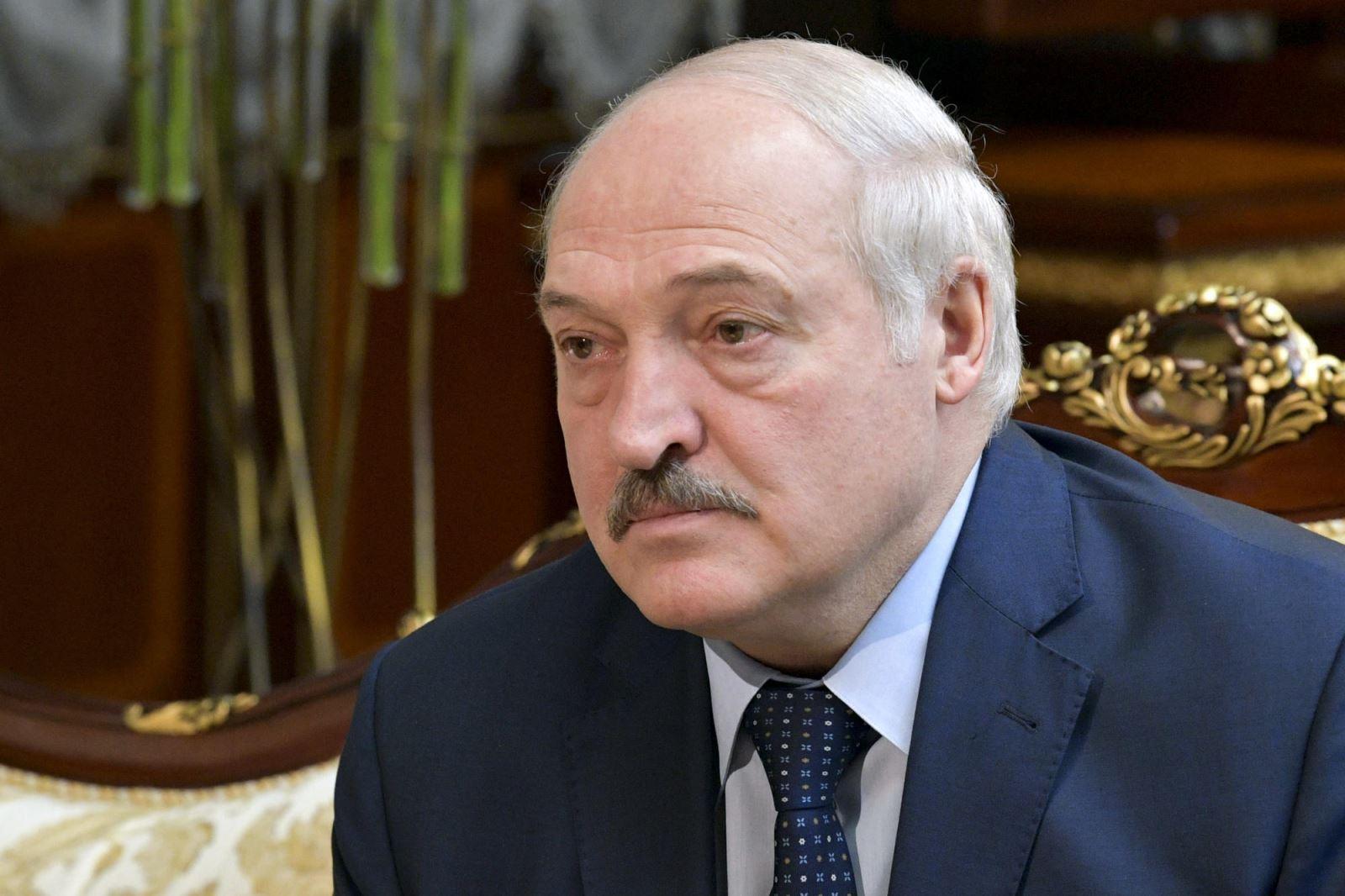 Tổng thống Belarus, Lukashenko.