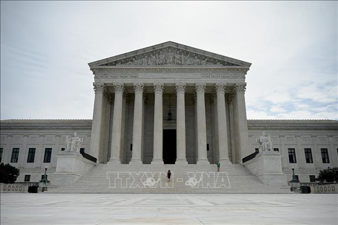 Trụ sở Tòa án tối cao Mỹ tại Washington, DC. Ảnh: AFP/TTXVN