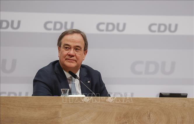 Chủ tịch đảng CDU Armin Laschet. Ảnh: AFP/TTXVN