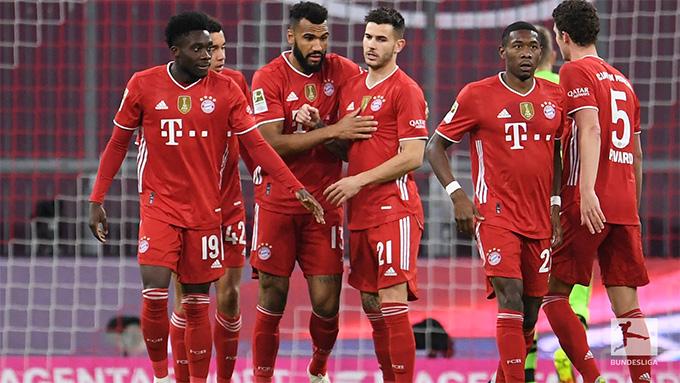 Bayern chỉ còn cách chức vô địch 1 trận thắng