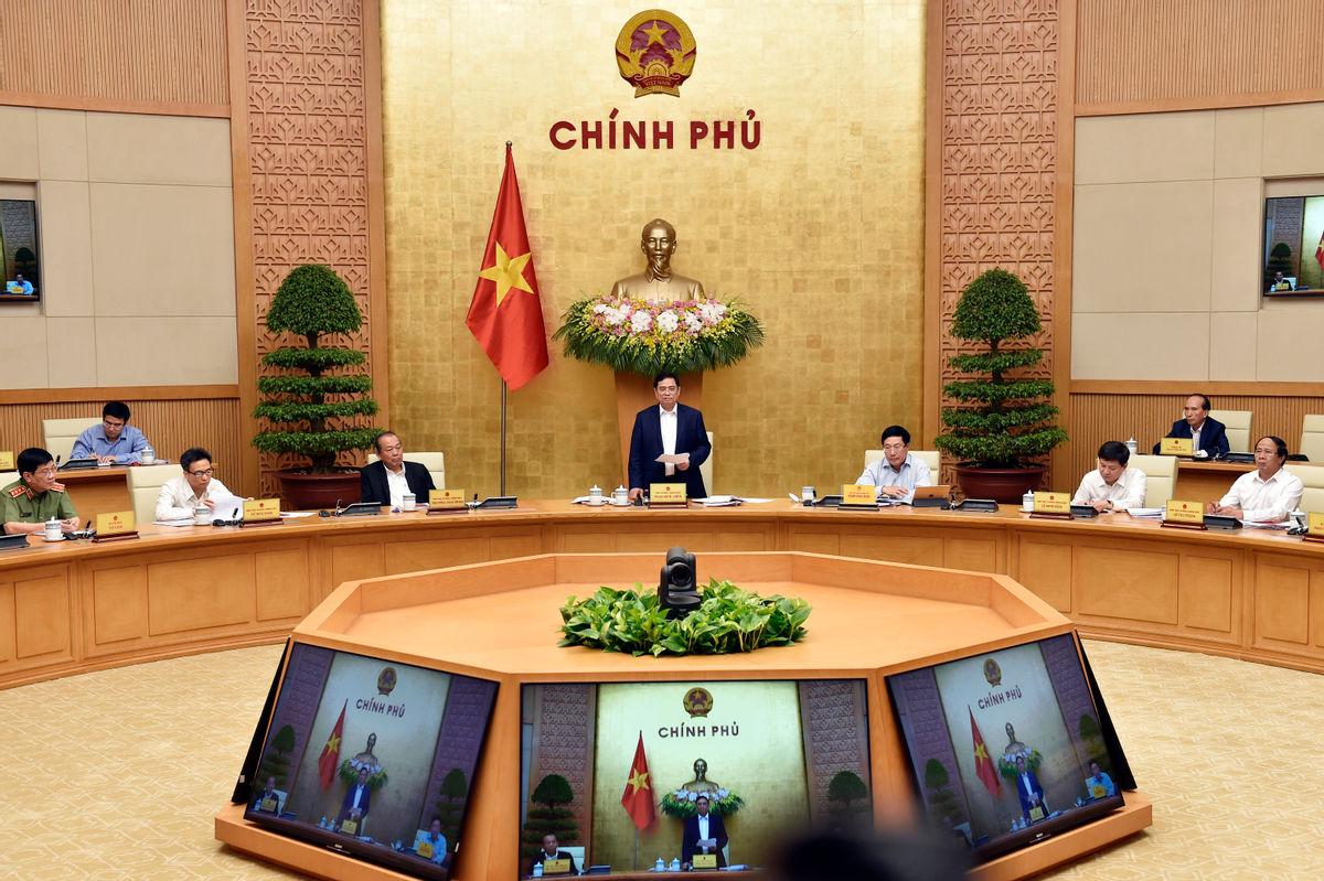 Chính phủ họp triển khai công việc sau khi kiện toàn