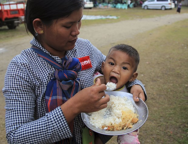 Người dân tại bang Kachin, Myanmar. Ảnh: AP