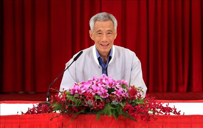 Thủ tướng Singapore Lý Hiển Long. Ảnh: TTXVN phát