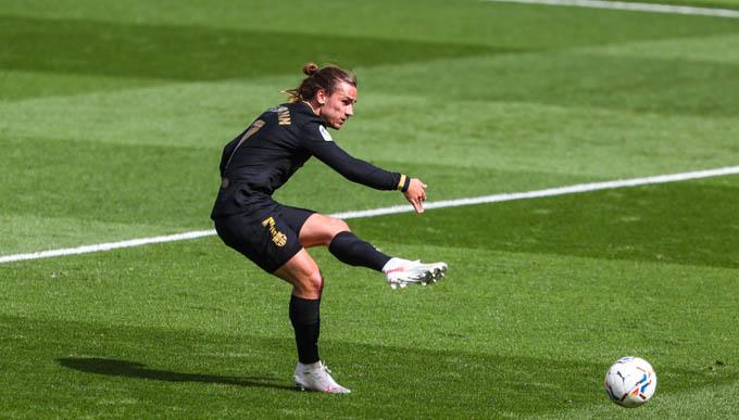 Griezmann là người hùng của Barca ở trận thắng Villarreal