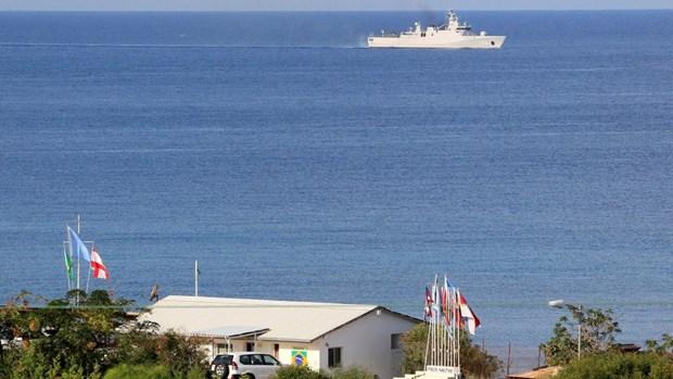 Căn cứ của Liên hợp quốc ở thị trấn Naqura, miền Nam Liban. (Nguồn: Reuters)