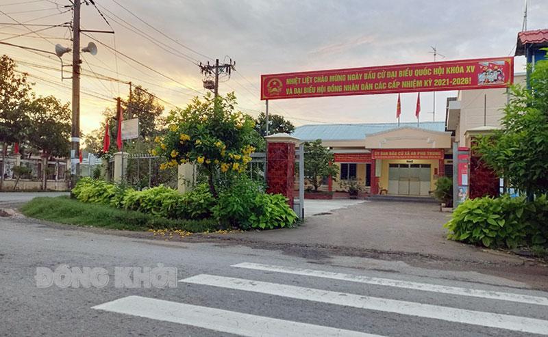 Hệ thống truyền thanh cơ sở trên địa bàn huyện Ba Tri tích cực tuyên truyền về cuộc bầu cử. Ảnh: Thanh Hải