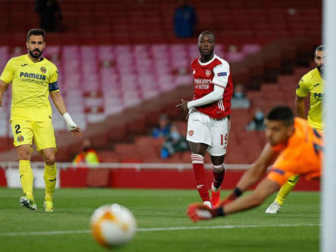 Arsenal nhìn Villarreal vào chơi chung kết Europa League 2020/21