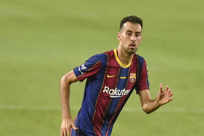 BLĐ Barca đang tìm người thay thế cho Sergio Busquets