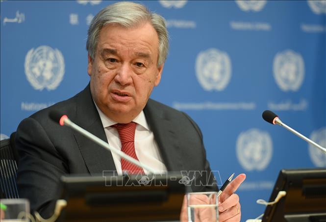 Tổng Thư ký Liên hợp quốc Antonio Guterres. Ảnh: AFP/TTXVN