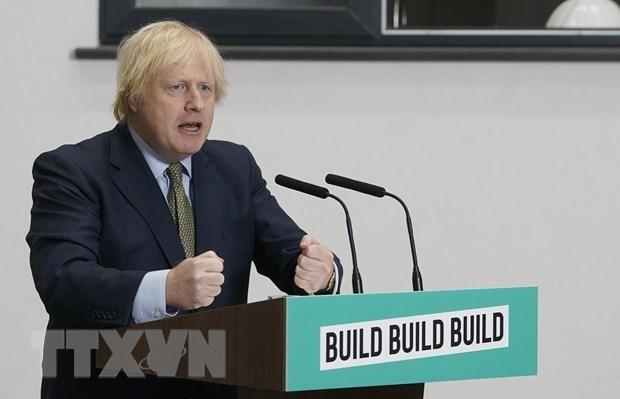 Thủ tướng Anh Boris Johnson. Ảnh: THX/TTXVN