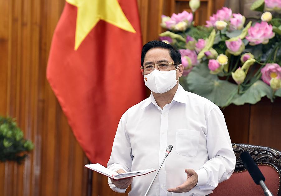 Thủ tướng Phạm Minh Chính: Ngành giáo dục phải vươn lên mạnh mẽ, đổi mới tư duy quản lý. Ảnh VGP/Nhật Bắc