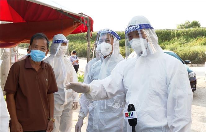 Bắc Ninh kiểm soát phòng dịch COVID-19. Ảnh: TTXVN