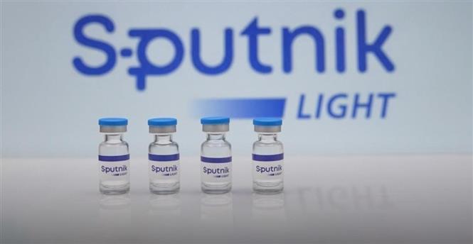 Vaccine Sputnik Light ngừa COVID-19 của Nga. Ảnh: REUTERS/TTXVN