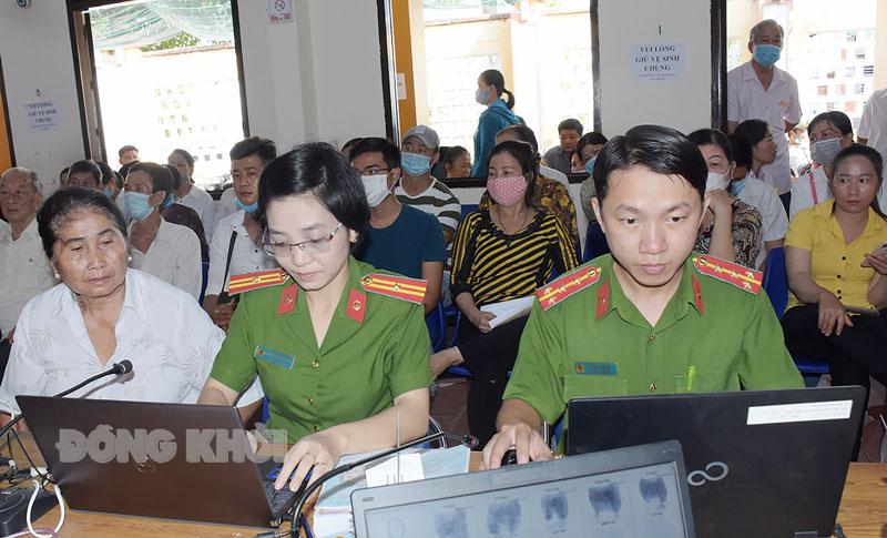 Cấp căn cước công dân tại Phòng Cảnh sát quản lý hành chính về trật tự xã hội, Công an tỉnh.