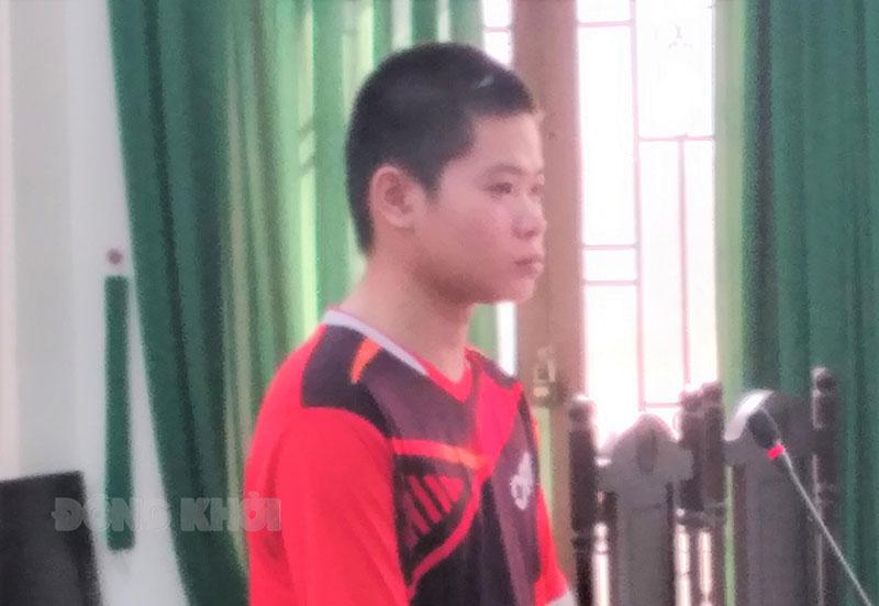 Bị cáo Khang tại phiên tòa ngày 10-5-2021.