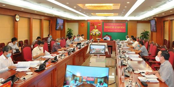 Ủy ban Kiểm tra Trung ương họp Kỳ thứ ba