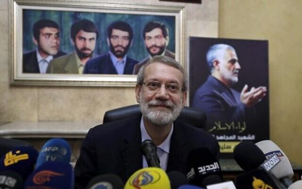 Cựu Chủ tịch Quốc hội Iran Ali Larijani. (Nguồn: AP)