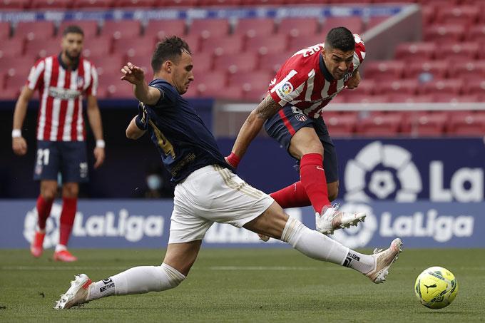 Suarez trở thành người hùng của Atletico
