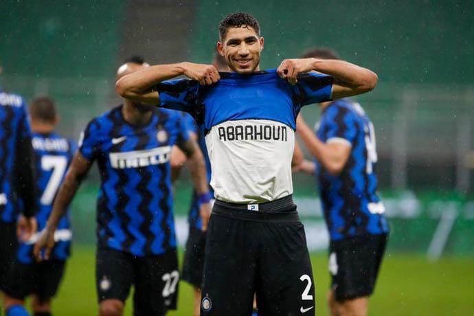 Hakimi có 1 mùa giải bùng nổ tại Inter